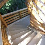 Felsőörs, kilátó, lépcső